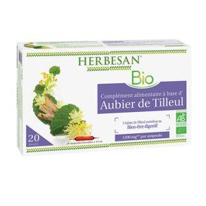 Super Diet Herbesan Aubier de tilleul Bio 20 ampoules - Publicité