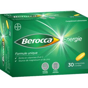 Bayer Berocca Énergie - 30 comprimés à avaler - Publicité
