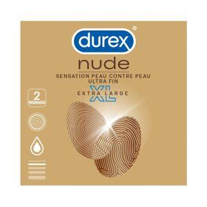 Durex Nude extra large XL - 2 préservatifs - Publicité
