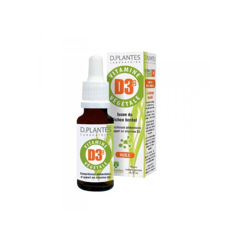 D.Plantes laboratoires D.Plantes Vitamine D3++ Végétale - 20 ml