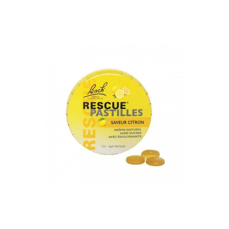 Bach Fleur de Bach Rescue citron pastilles 50 g