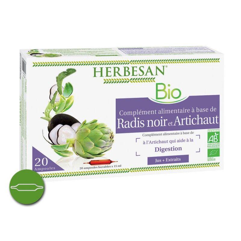 Super Diet Herbesan Radis noir artichaut Bio 20 ampoules