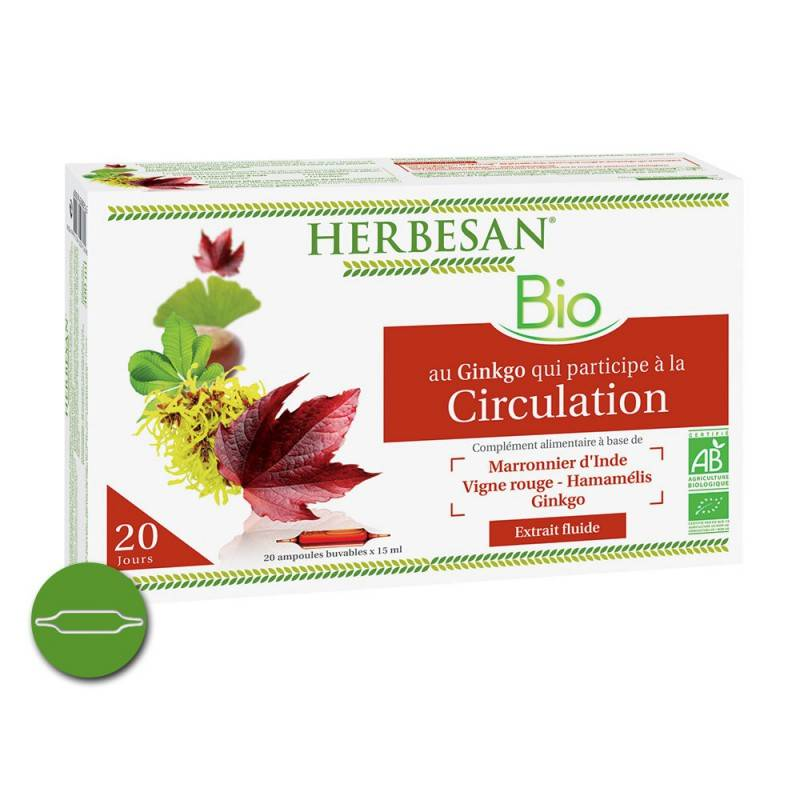 Super Diet Herbesan Circulation Bio 20 ampoules