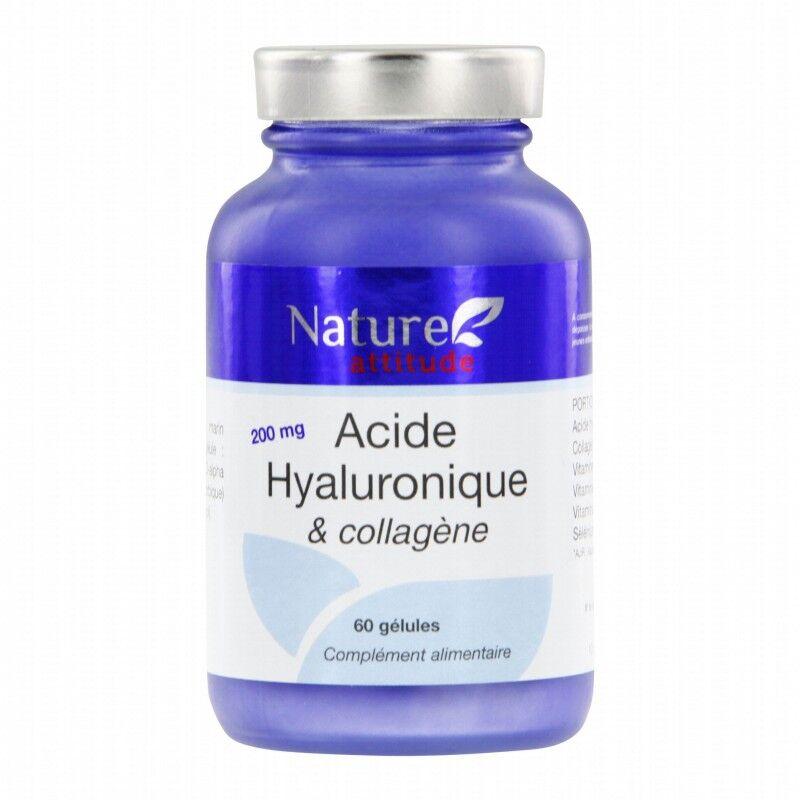 Nature Attitude Acide Hyaluronique et collagène 60 gél