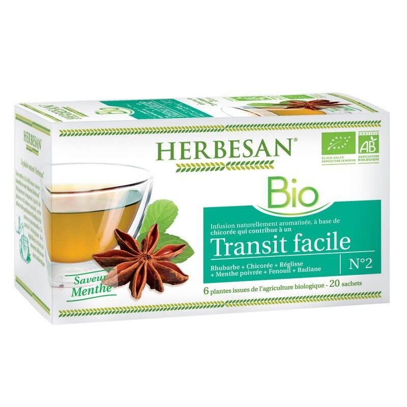 Super Diet Herbesan infusion transit facile N°2 - 20 sachets