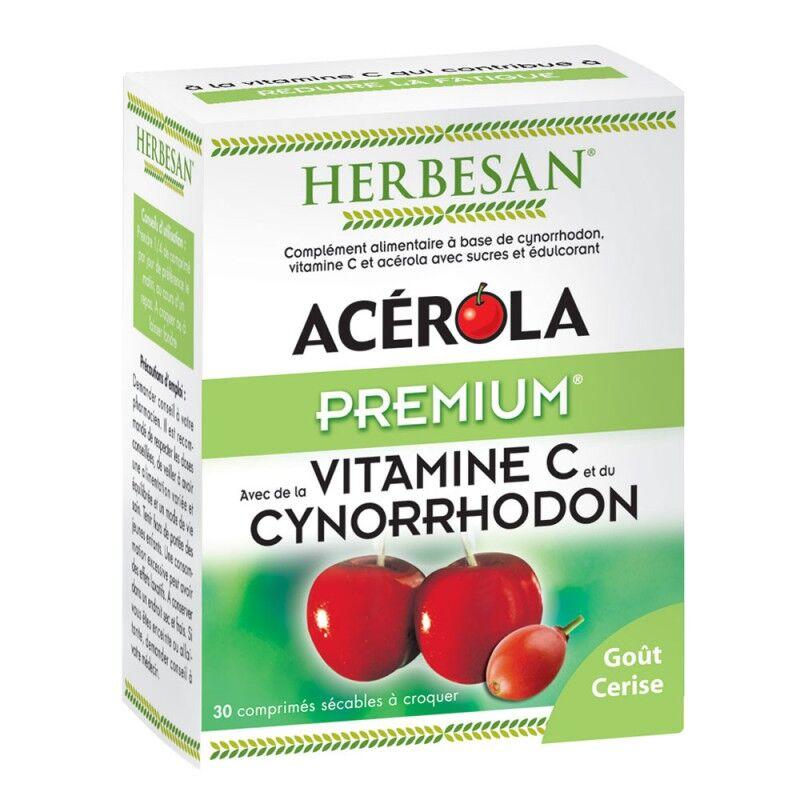 Super Diet Herbesan Acérola premium - 30 comprimés à croquer