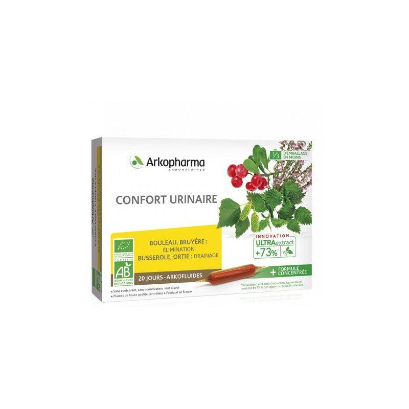 Arkopharma Arkofluides Confort urinaire Bio - 20 ampoules