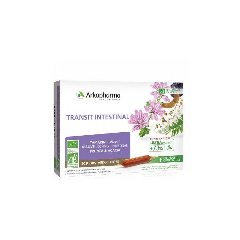Arkopharma Arkofluides Transit intestinal Bio - 20 ampoules