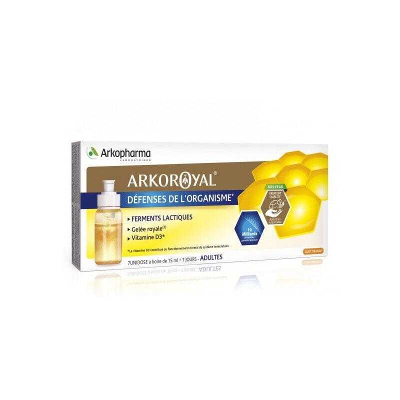 Arkopharma ArkoRoyal défenses de l'organisme adulte - 7 unidoses