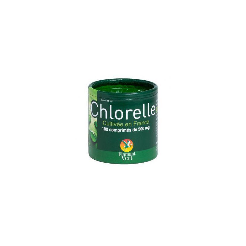 Flamant Vert Chlorelle Flamant Vert 180 Comprimés à 500mg