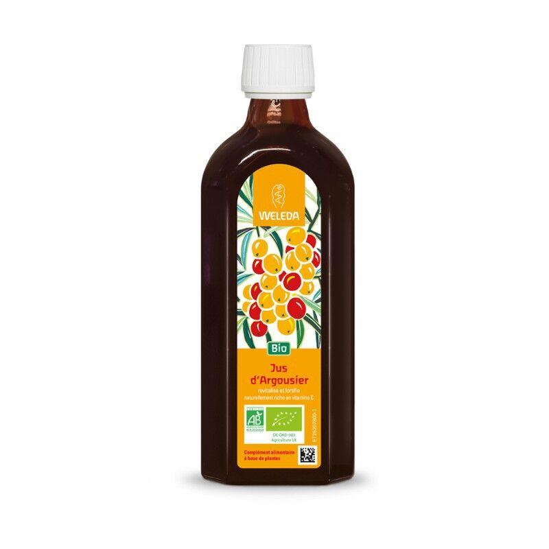 Weleda jus d'argousier bio - 250 ml