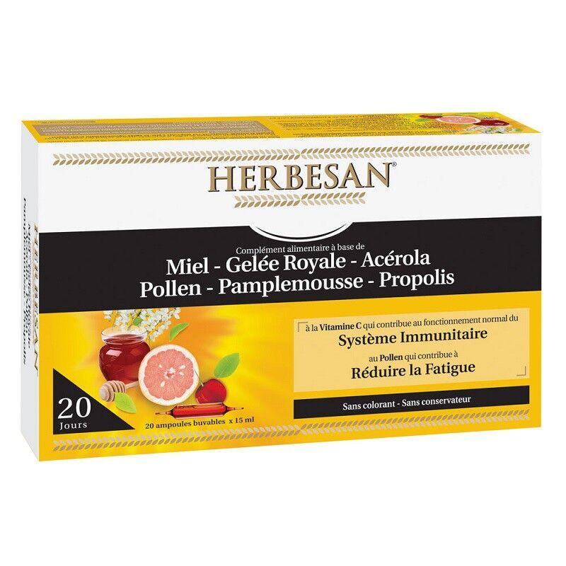 Super Diet Herbesan Système Immunitaire - 20 ampoules