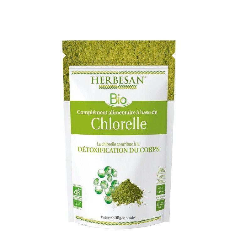 Super Diet Herbesan Chlorelle Bio - Sachet de 200g