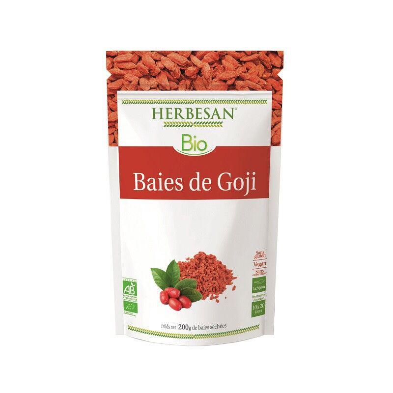 Super Diet Herbesan Baies de Goji Bio - Sachet de 200g