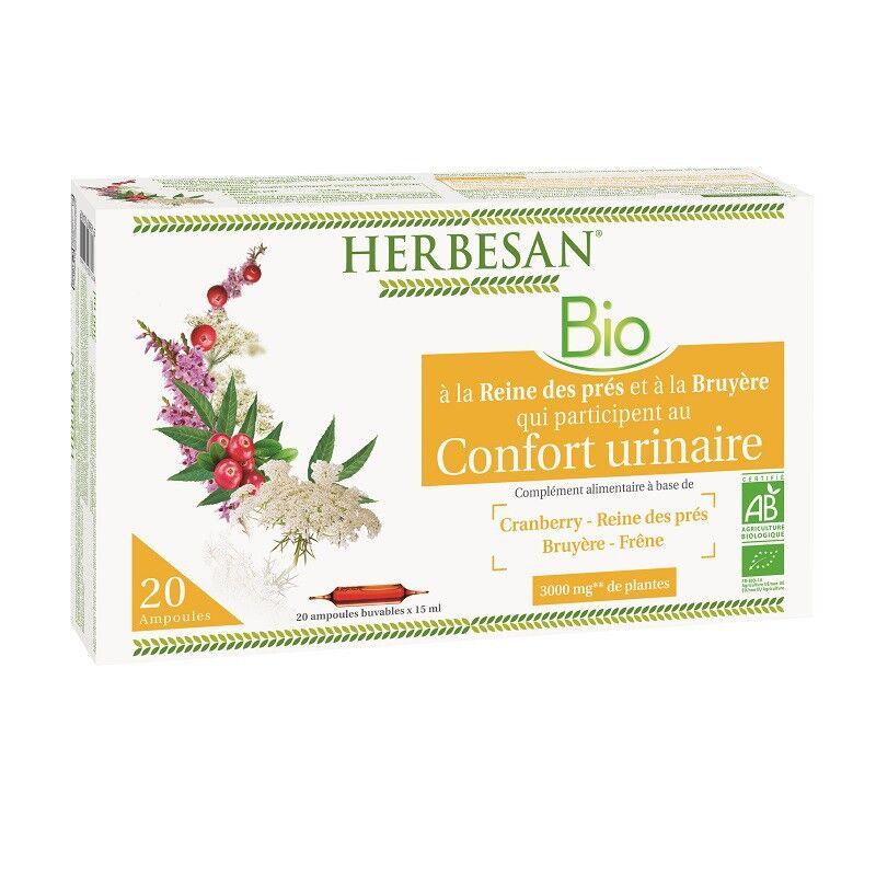 Super Diet Herbesan Confort urinaire Bio - 20 ampoules