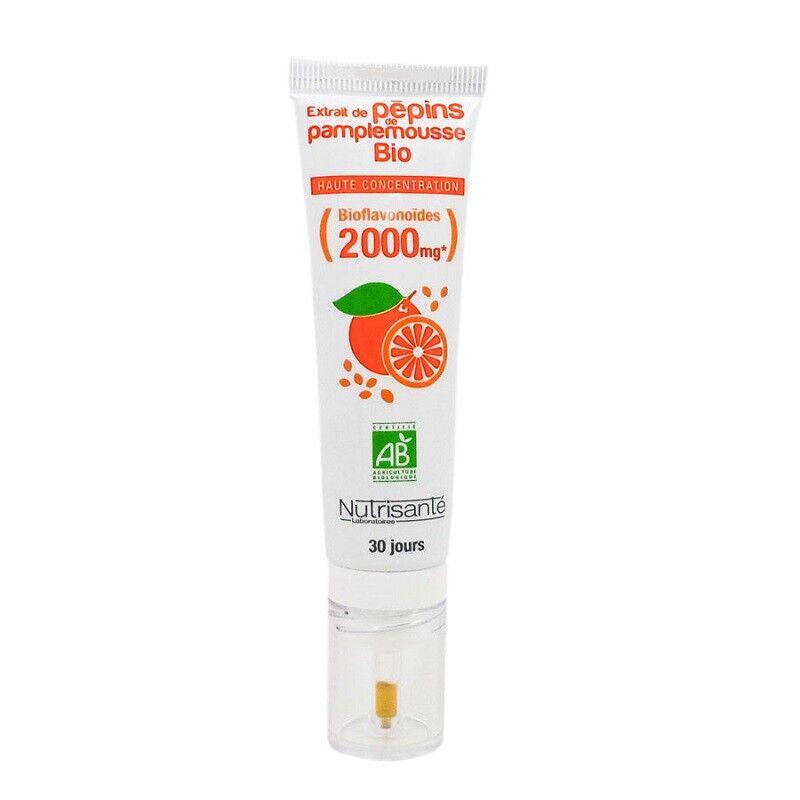 Nutrisanté Extrait de pépins de pamplemousse Bio 30 ml