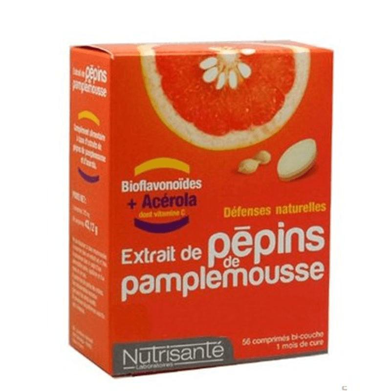 Nutrisanté Extrait de pépins de pamplemousse - 56 comprimés