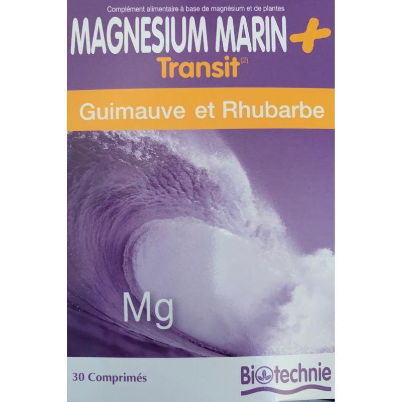 biotechnie Magnesium marin transit biotechnie 30 gélules