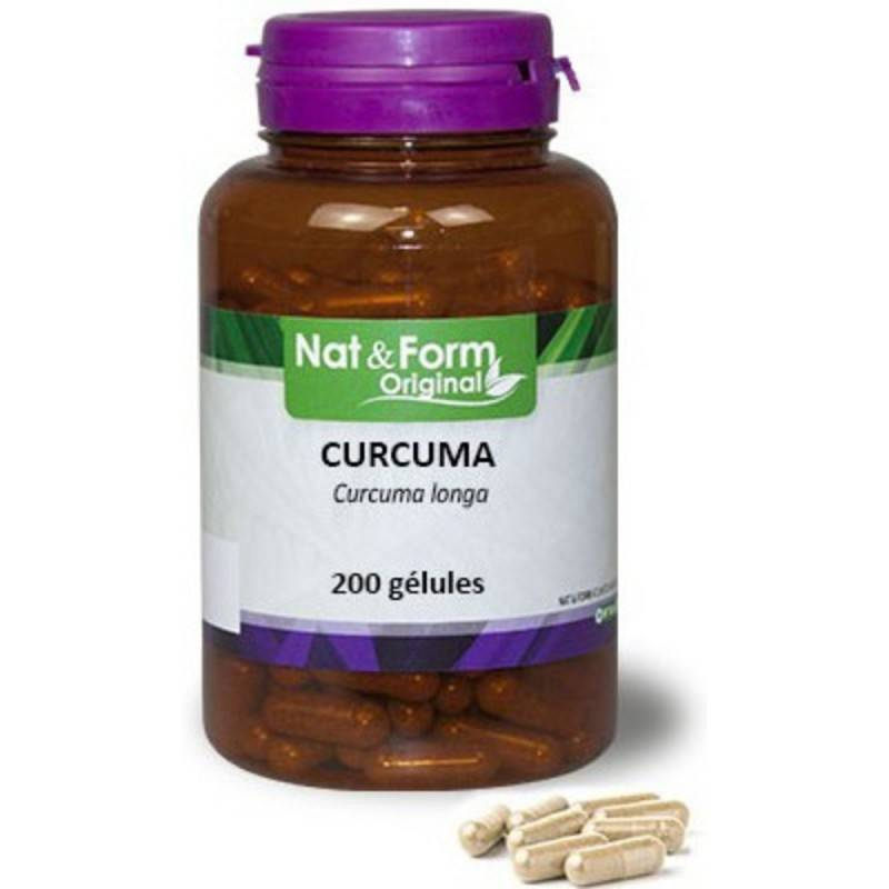 Nat&Form Curcuma - 200 gélules