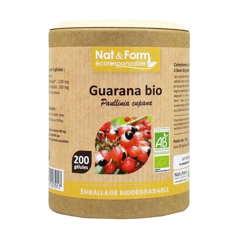 Nat&Form Guarana Bio - 200 gélules
