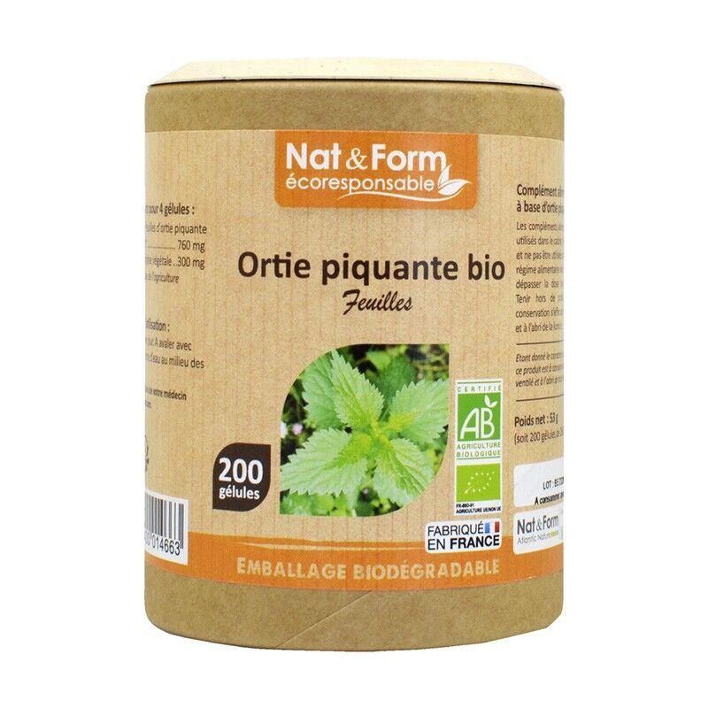 Nat&Form Ortie piquante Bio - 200 gélules