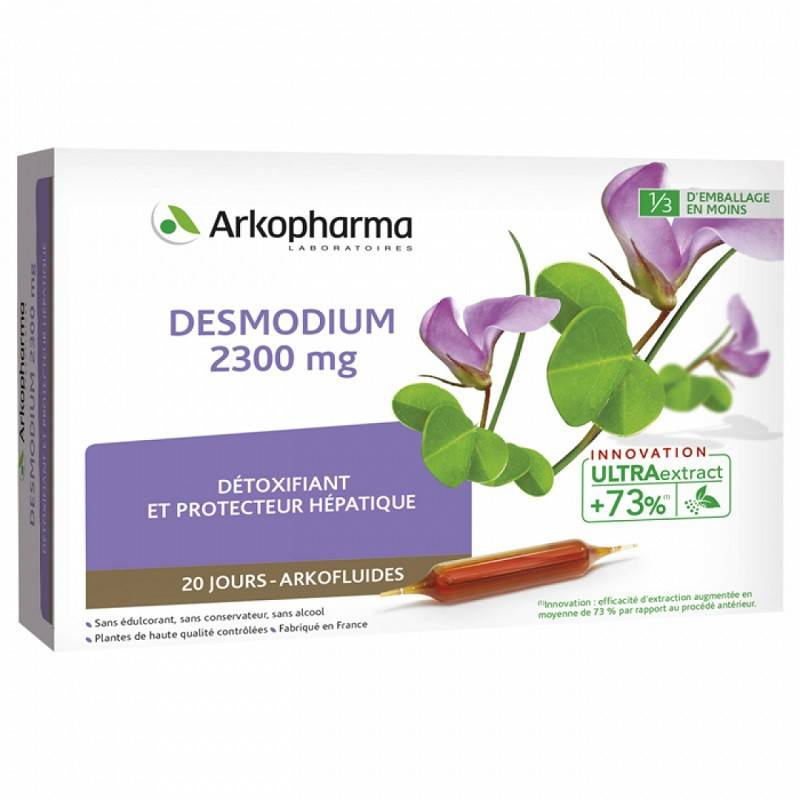 Arkopharma Arkofluides Desmodium 2300 mg - 20 ampoules buvables