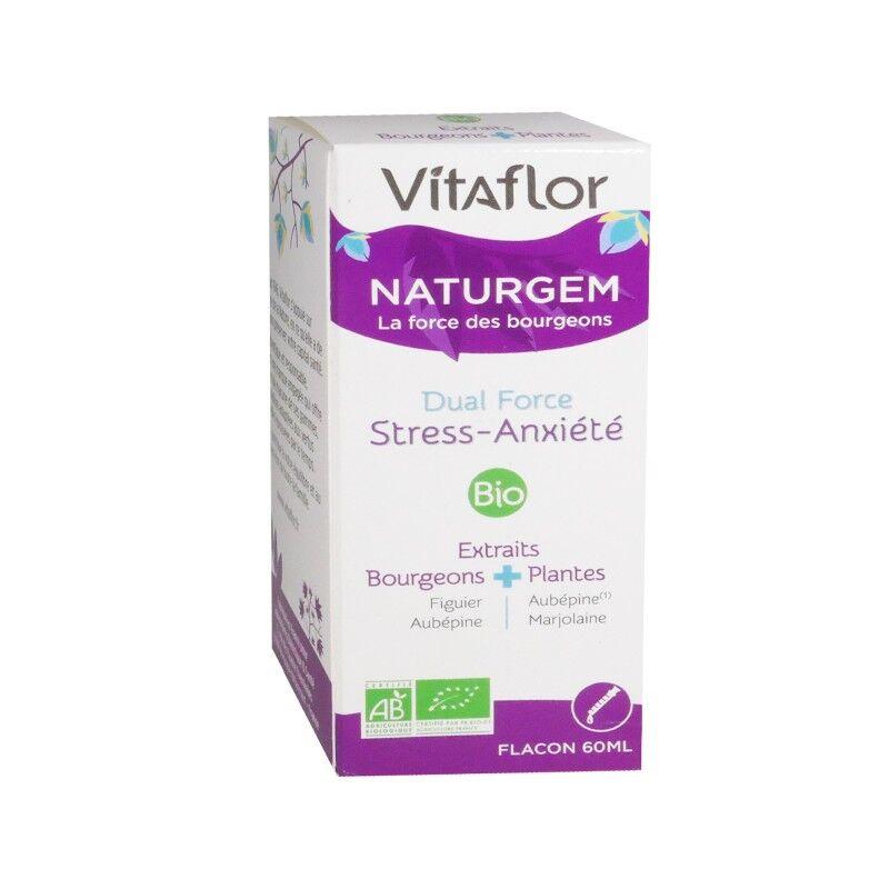 Vitaflor Naturgem Dual Force stress anxiété Bio - 60ml