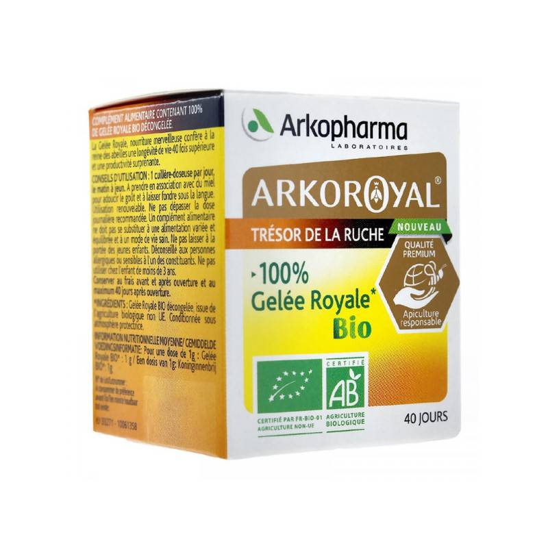 Arkopharma Arko Royal 100% gelée royale Bio - 40g