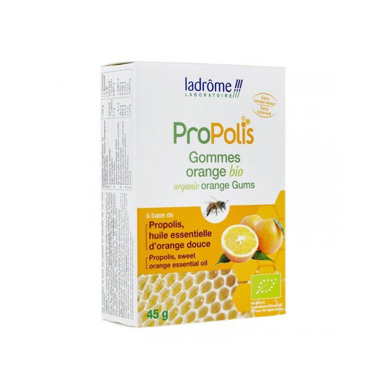 La drôme Ladrôme Propolis gommes orange Bio - 45g
