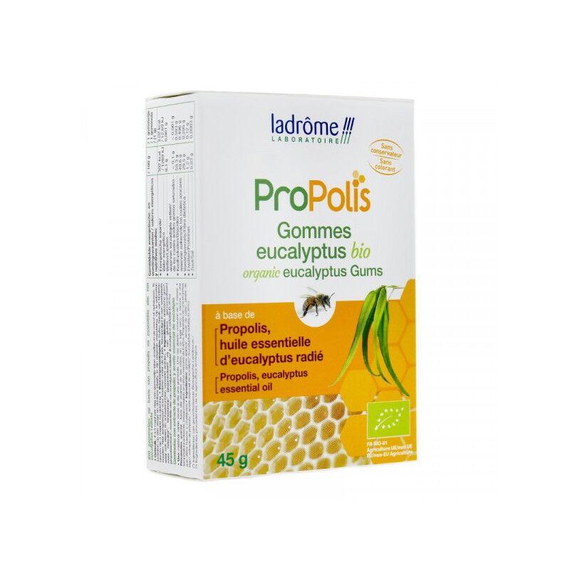La drôme Ladrôme Propolis gommes eucalyptus Bio - 45g