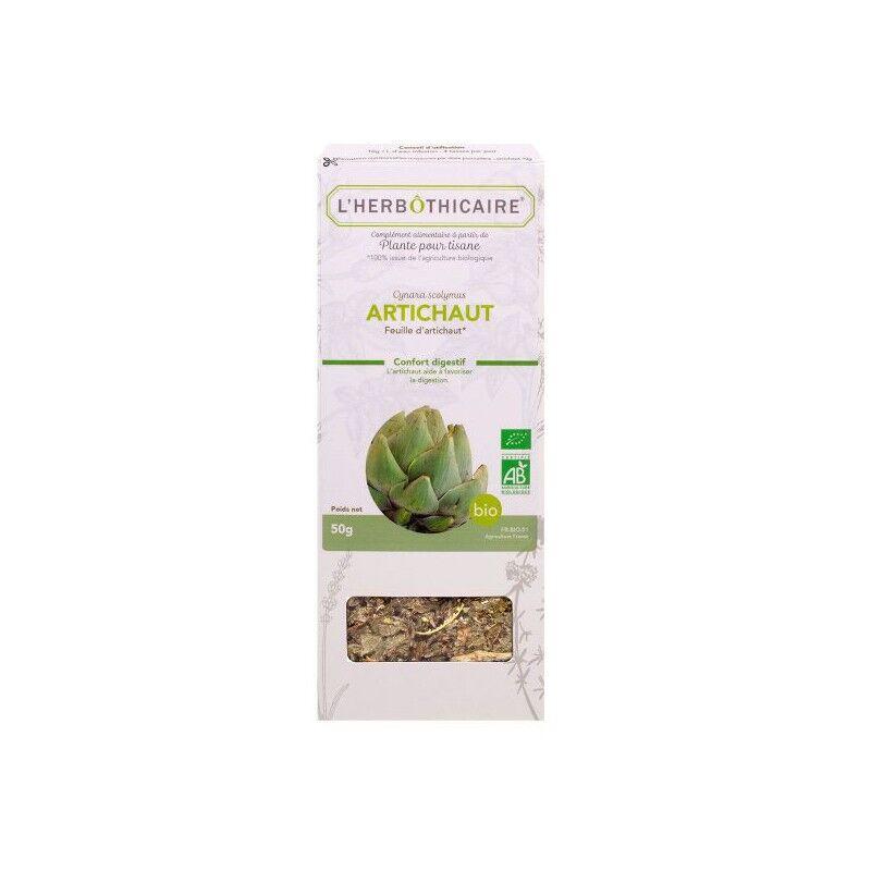 L'herboticaire L'herbôthicaire tisane Artichaut bio 50g