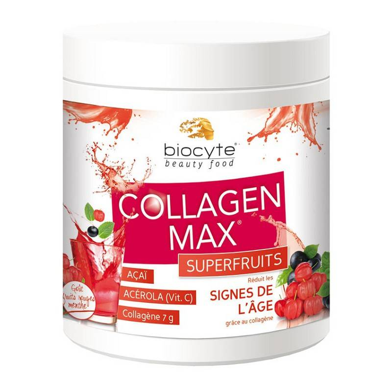 Biocyte Collagen max superfruits anti-âge - 260g