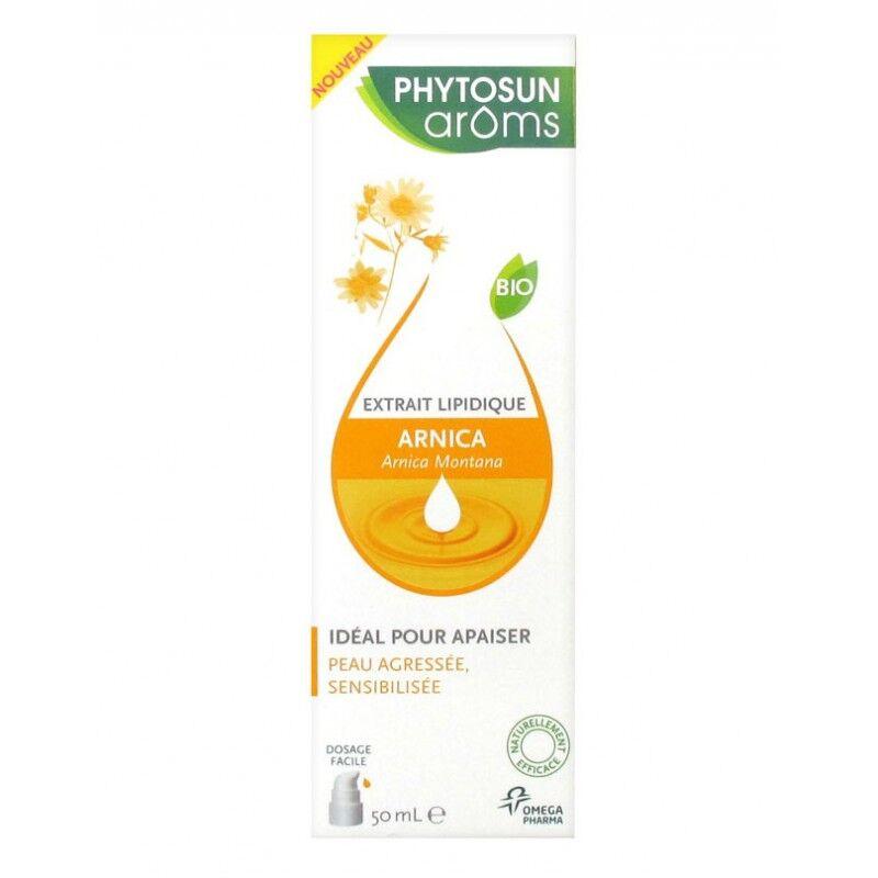 Phytosunarôms Phytosun Arôms Extrait lipidique arnica Bio - 50ml