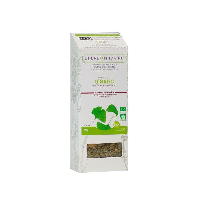 L'herboticaire L'herbôthicaire tisane Ginkgo bio 70g