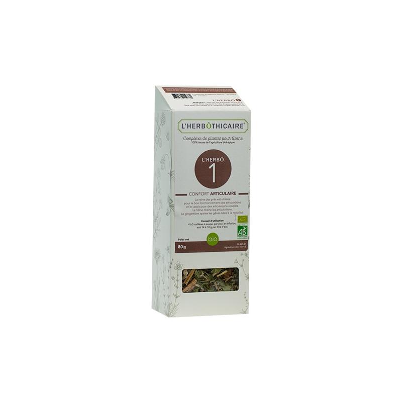 L'herboticaire L'herbôthicaire L'herbô 1 Confort articulaire 80 g