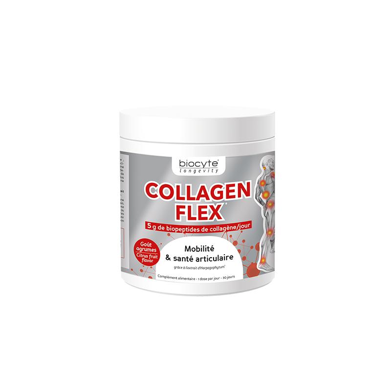 Biocyte Collagen Flex goût agrumes 240g