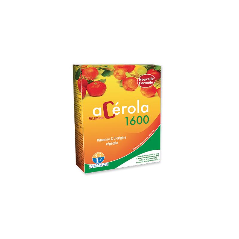 Fenioux Acérola 1600 3 tubes de 14 comprimés