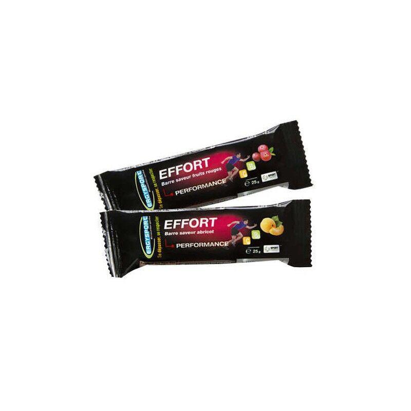 Nutergia Ergysport Effort Barre saveur fruits rouges - 25g