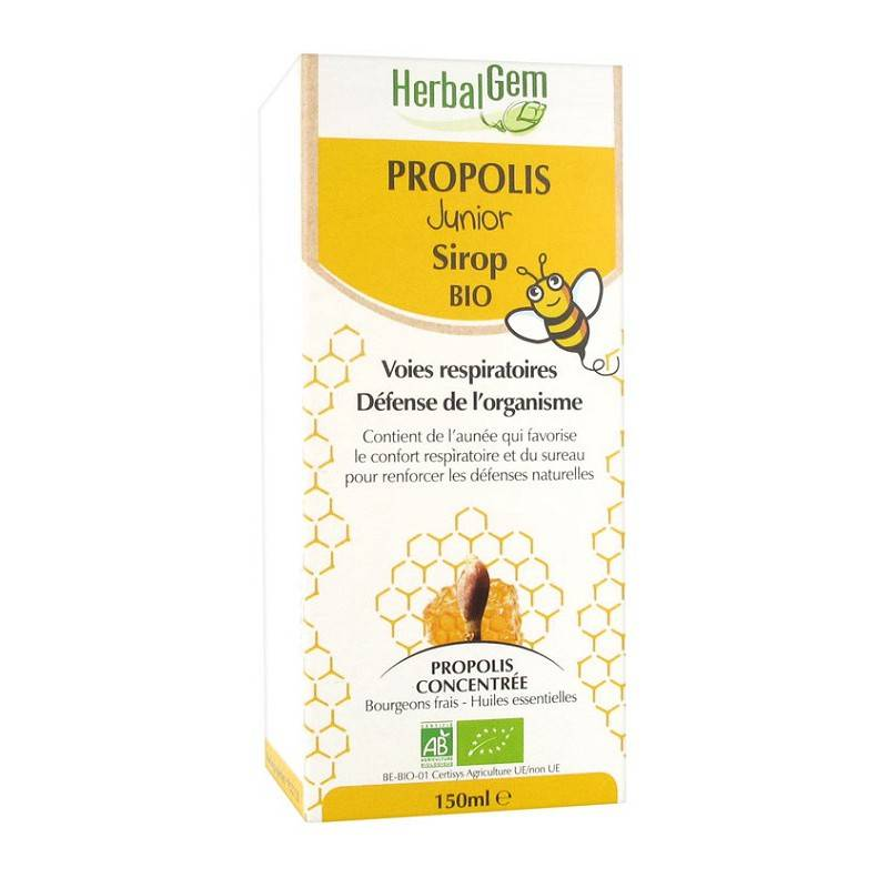 HerbalGem Propolis Junior Bio sirop - 150ml