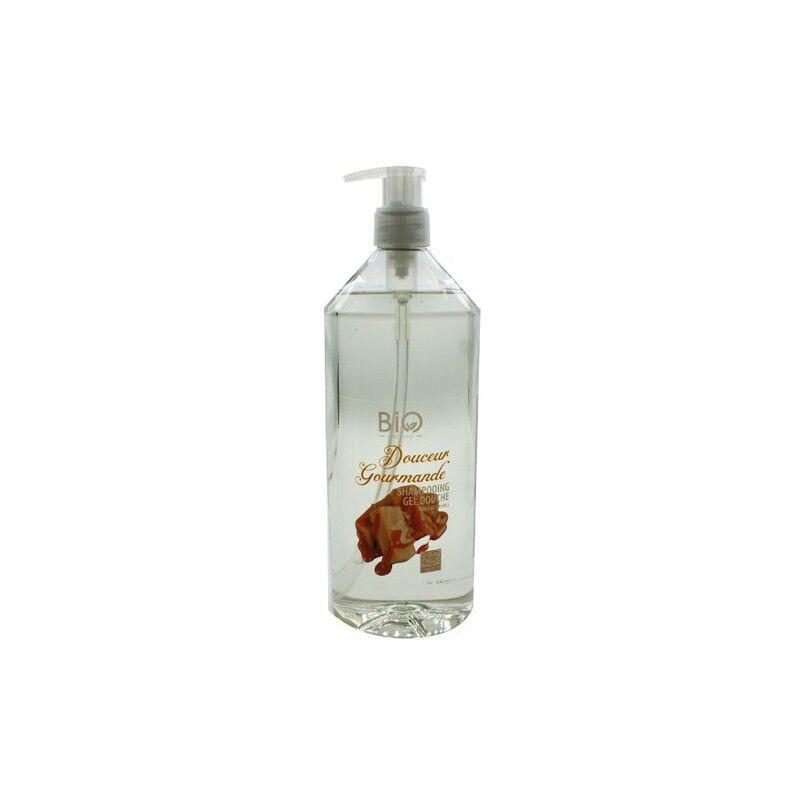 Gravier shampooing gel douche bio douceur gourmande 1L