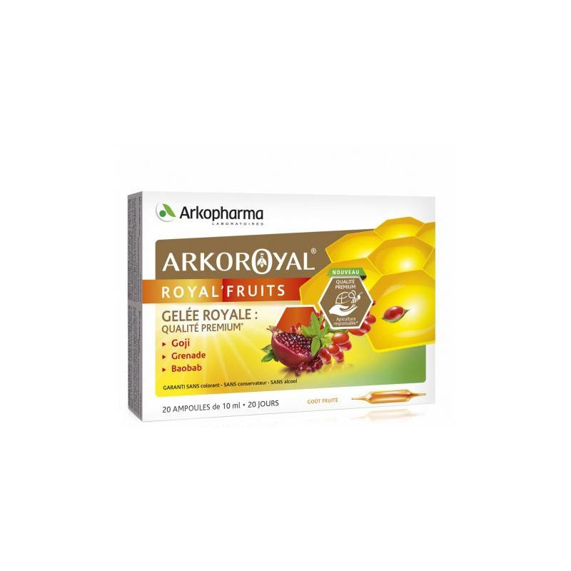 Arkopharma ArkoRoyal royal'fruits - 20 ampoules