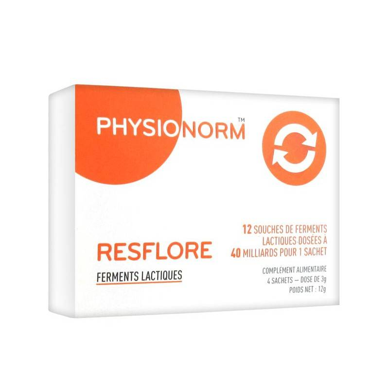 Immubio Physionorm resflore - 4 sachets