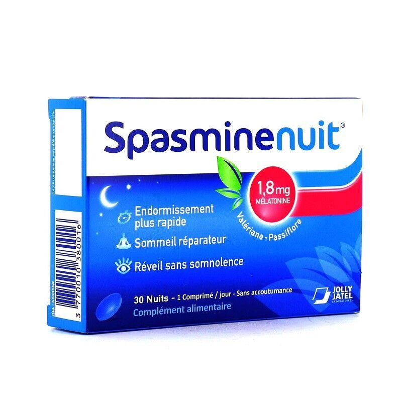Jolly Jatel SpasmineNuit - 30 comprimés