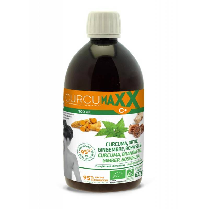 CurcumaXX Ortie Gingembre Boswellia Bio - 500ml
