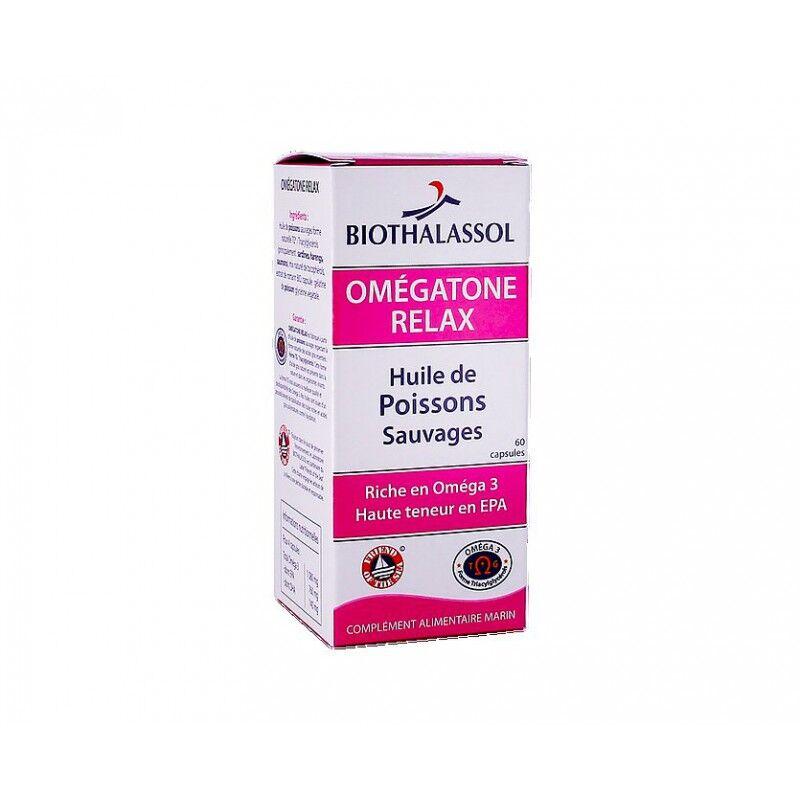 Biothalassol Omégatone Relax - 120 capsules