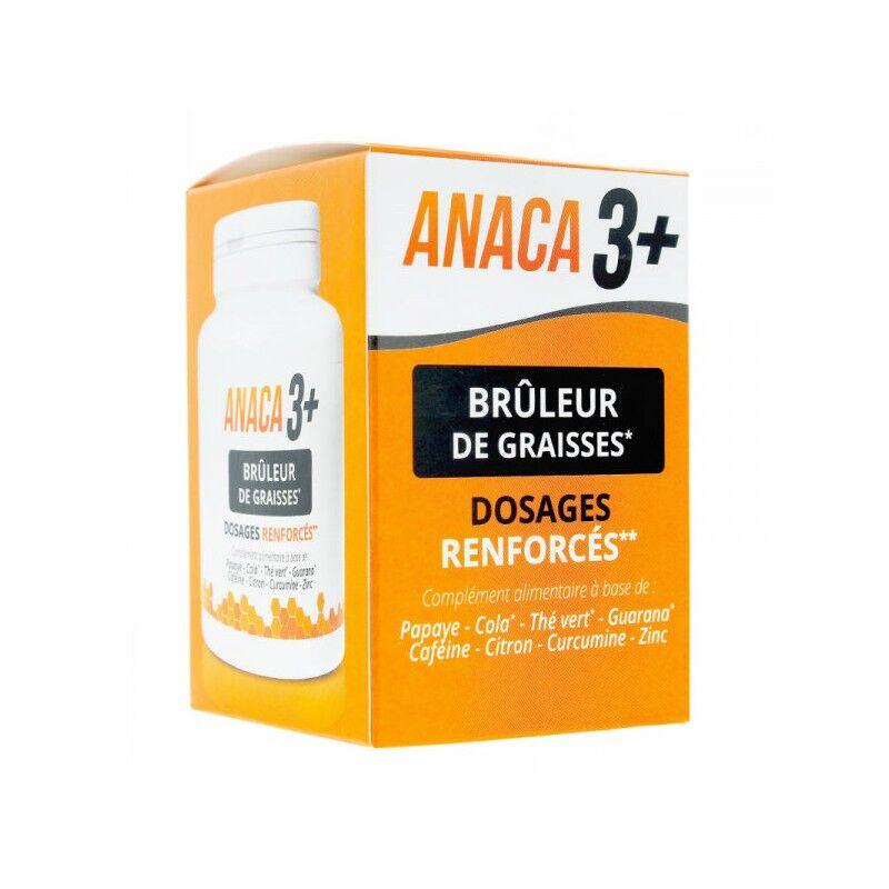 Anaca 3 Anaca3 brûleur de graisses dosages renforcés 120 gélules