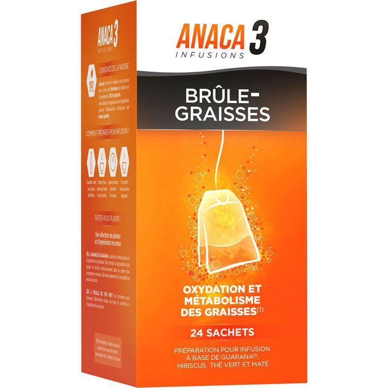 Anaca 3 Anaca3 Infusions brûle-graisses - 24 sachets