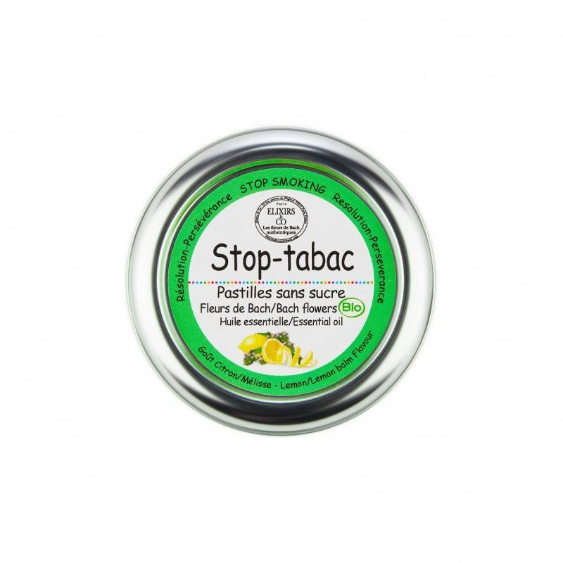Elixir and co Elixirs & Co - Pastilles sans sucre stop tabac Bio - 45g
