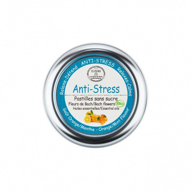 Elixir and co Elixirs & Co - Pastilles sans sucre anti-stress Bio - 45g