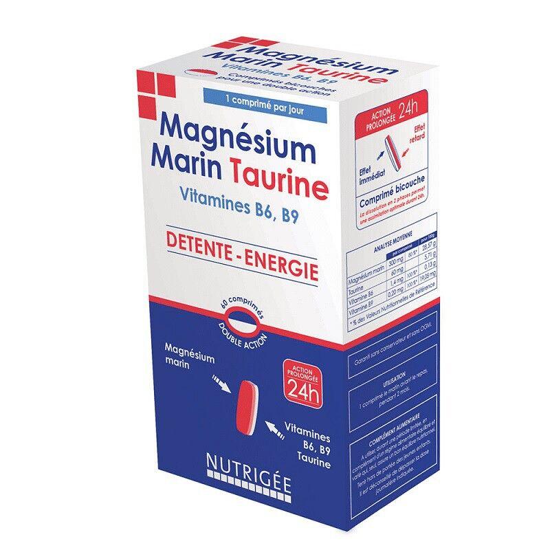 Nutrigée Magnésium Marin Taurine - 60 comprimés